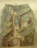 """""""Дом N 7""""  Холст, масло, 40х31, 2011, Цена по запросу"""