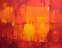 """""""Лунный свет в гранатовом саду"""" Холст, масло,100х130, 2007, 5500 €"""
