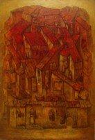 """""""Мой квартал"""" Холст, масло, 60х40, 2012, Цена по запросу"""