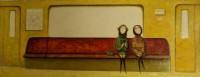 """""""Однажды в Москве""""  Холст, масло, 30х80, 2012, Цена по запросу"""