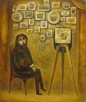 """Фотограф"" Холст, масло, 60х50, 2011, Цена по запросу"