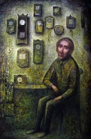 """Часовщик"" Холст, масло, 60х40, 2012, Цена по запросу"