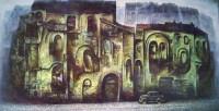 """""""Сеиченто"""" Холст, масло, 35х70, 2011, Цена по запросу"""